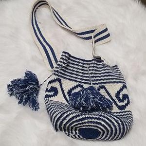 Unique Batik bucket bag